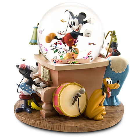 Disney Mickey Mouse & Friends Musical Snowglobe