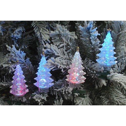 4 Multi-Color LED Christmas Tree Holiday Lights
