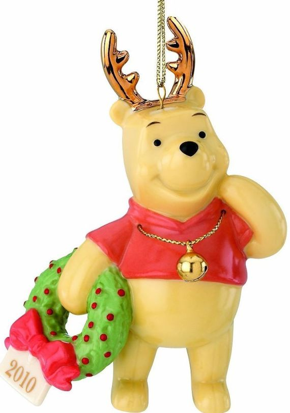 Pooh's Deerest Christmas Ornament