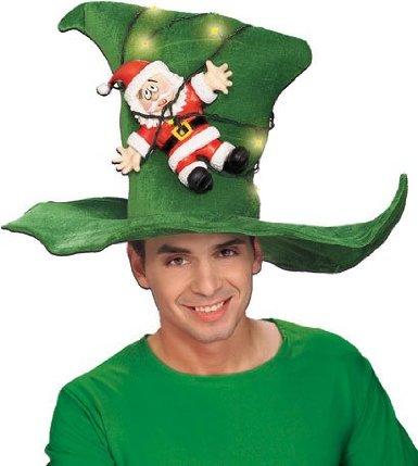 Santa's Strung Out Hat