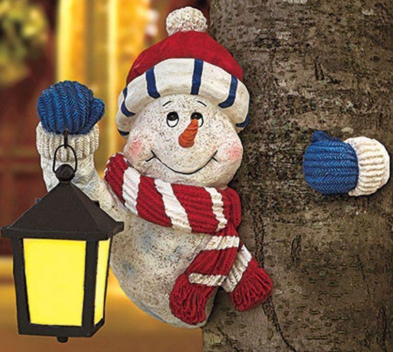 Holiday Snowman Treehugger