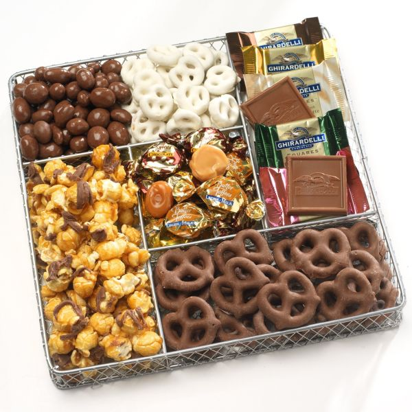 Basketeers Deluxe Chocolate And Nut Collection Gourmet