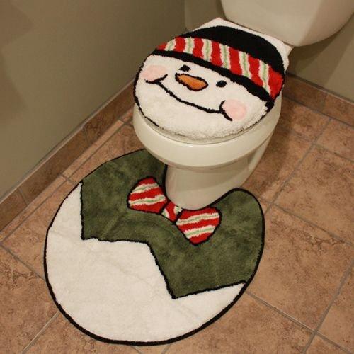 коледни аксесоари за тоалетна