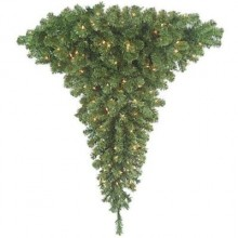 You'll never have to complain about not having a wall available to put your Christmas Tree up against!! Barcana has the solution for you--a Christmas Tree that wraps right around any corner in your home or office! Choose from 4 Foot, 5 Foot and 7 Foot Wrap Around the Corner Right Side Up Pre-lit Ready Trim Christmas Trees!