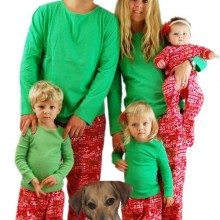 Sleepyheads Family Matching Christmas Cheer Loungesets