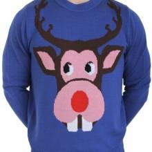 Rudolf the Bucktoofed Reindeer Sweater