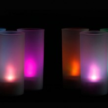 Multi Color Changing LED Flameless