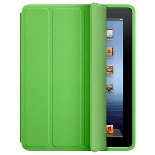 Apple iPad Smart Case - Polyurethane - Green - for iPad 2 & iPad 3