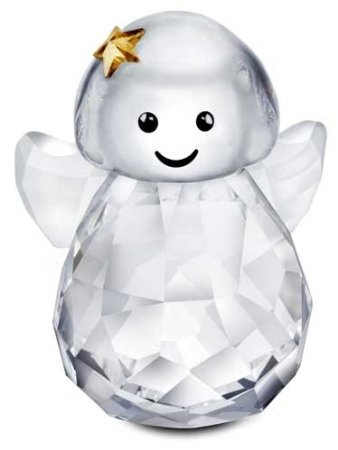 Swarovski Rocking Angel Figurine