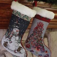 The Fiber Optic Christmas Stocking