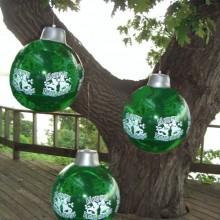 Big Inflatable Christmas Ornaments