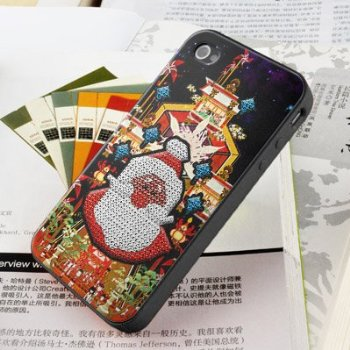 Santa case iphone