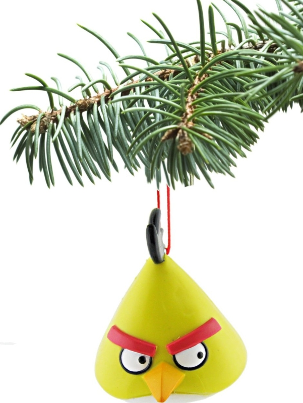 Angry Birds Licensed Ornament - Yellow Bird