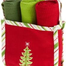 Holiday Gift Set Festive Tree Kitchen Gift Set