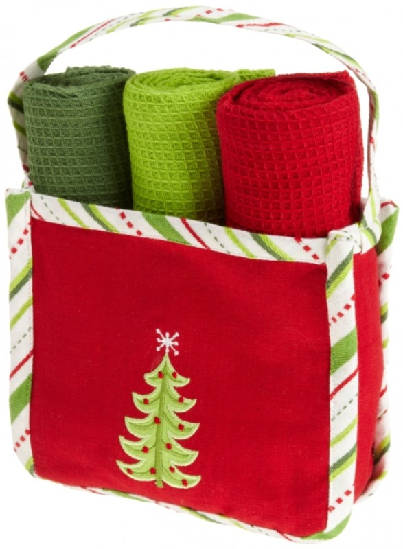 Holiday Gift Set Festive Tree Kitchen Gift Set