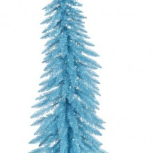 Pre-Lit Whimsical Sky Blue Spruce Artificial Christmas Tree