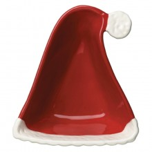 Santa's Hat Dip Bowl and Spreader Set