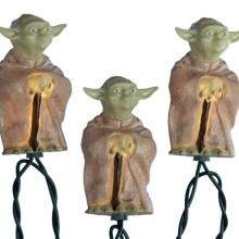 Star Wars Plastic Yoda Light