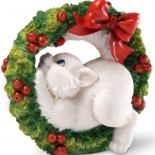 Charming Purrsonalities Get The Holidays Rolling Figurine