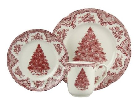 Old Britain Castles 12-Piece Holiday Dinnerware Set
