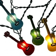 Multi-Colored Guitar Light Set