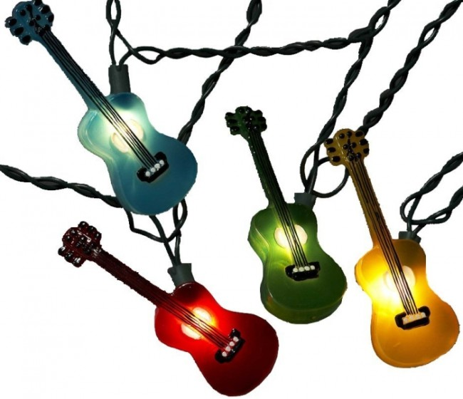 Multi-Colored Guitar Light Set