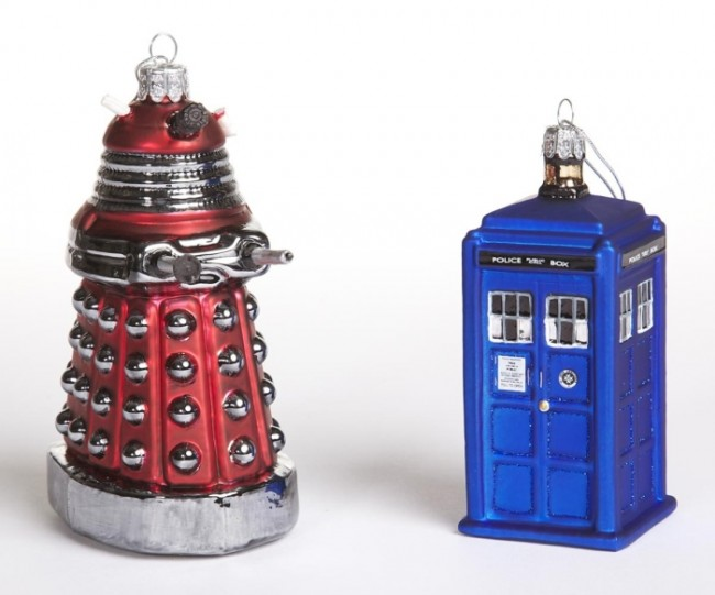 Doctor Who Ornament Set