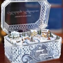 The Thomas Kinkade Crystal Music Box