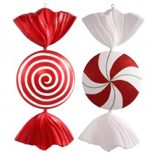 """37"""" Peppermint Candy Assorted"""