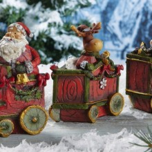 Santa & Friends Holiday Collectible Train