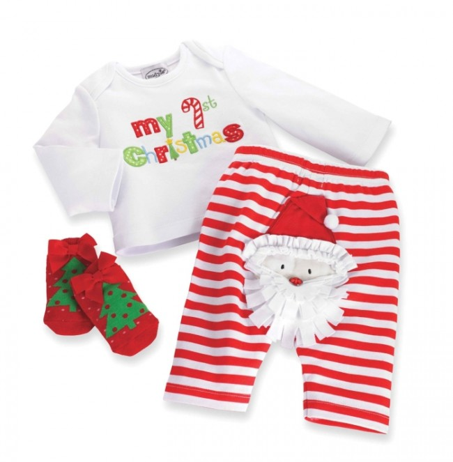 Baby-Girls Newborn Santa