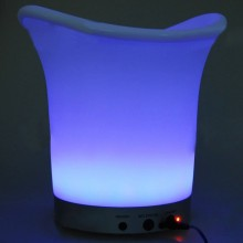 LED Light Color Changing Ice Bucket with Remote Control