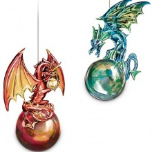 Mythic Reflections Ornament Collection