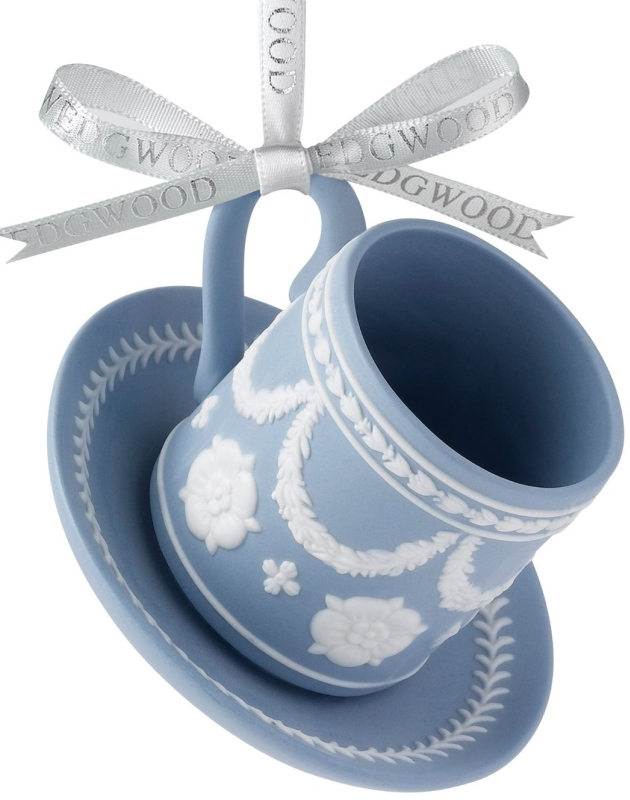 2012 Holiday Iconic Teacup and Saucer Ornament