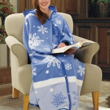Snowflake Cuddle Wrap Blanket