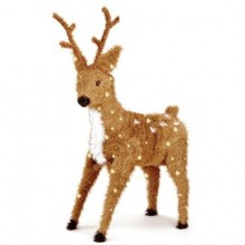 Pre-Lit Christmas Reindeer with Spots