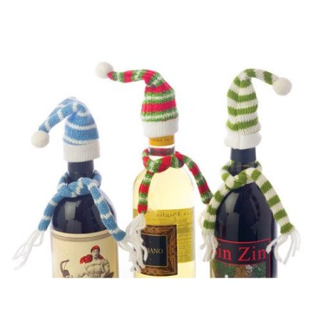 Bundle Up Knit Bottle Toppers