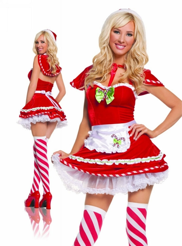 Ms. Kandi Kane Christmas Costume