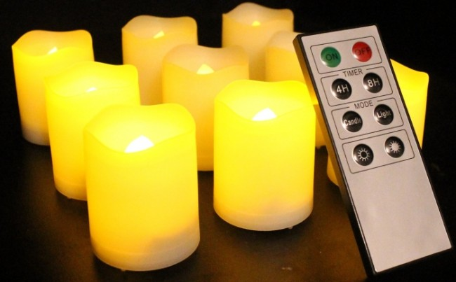 Indoor and Outdoor Votive Candles
