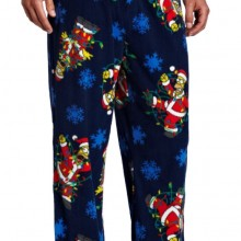 Men's Fox Simpsons Santa Homer Pant