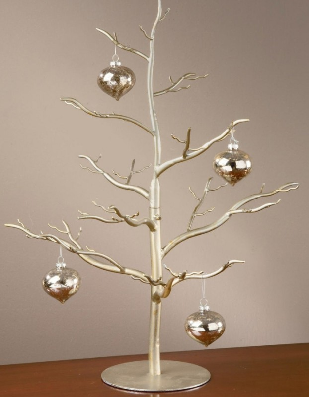 Antique Silver Ornament Tree