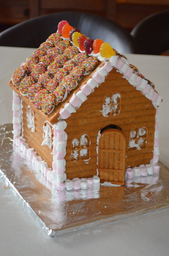 Gingerbread House Mold Christmas