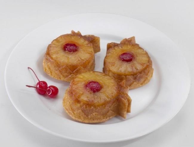 Pineapple Upside Down Mini Cake Pan