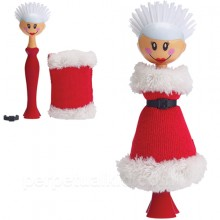 MRS. CLAUS DISH BRUSH & SPONGE