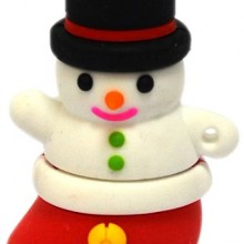 8GB Snowman USB Flash Drive