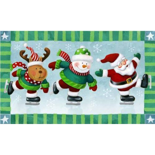 Holiday Indoor Outdoor Winter Mat Christmas