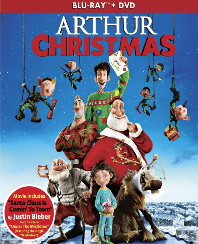 Arthur Christmas (Two Discs: Blu-ray / DVD + UltraViolet Digital Copy)