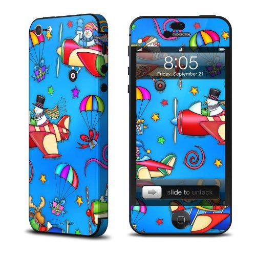 Christmas Delivery Design Protective Skin Decal Sticker for Apple iPhone 5