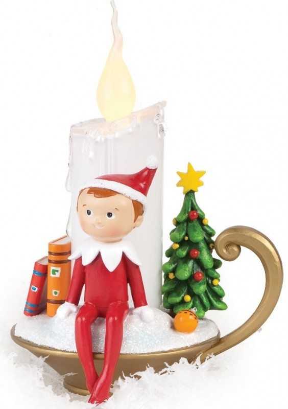 Elf on the Shelf LED Candle