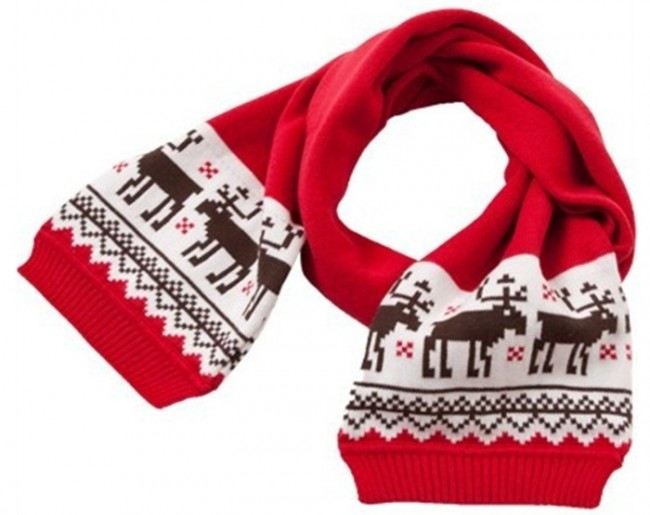 Baby Boys' Girls' Christmas Reindeer Warm Scarf Scarves
